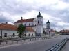 Alumnat i kościół w Tykocinie - widok z mostu
