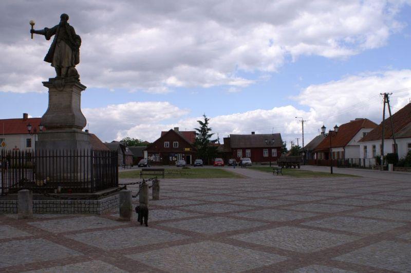 Plac Stefana Czarnieckiego - pomnik Hetmana
